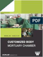 Customized Body Mortuary Chamber