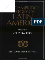 Cambridge History of Latin America 04, 1870-1930