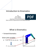 Introduction to Kinematics