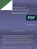 Recent Trends in Advertising