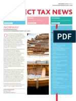BDO Indirect Tax News, September 2013