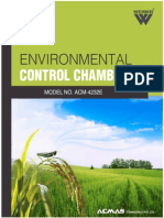 Environmental Control Chambers
