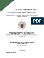 LIBERALISMO ILUSTRADO, INGALTERRA Y ESPAÑA 1763 a 1812