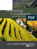 Sustaining the Commons.