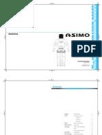 Asimo Technical Information