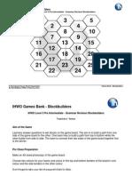 GBLevel3PreIntermediateGrammarRevisionBlockbuilders60th