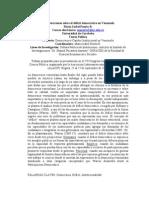 Consideraciones sobre el déficit democrático en Venezuela