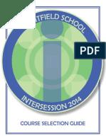 Intersession Course Description Guide 2014