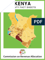 Kenya County Fact Sheets Dec2011