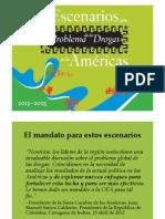 Diapositivas lanzamiento Informe Drogas Américas