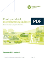 Food and Drink Manufacturing Industry Toolkit