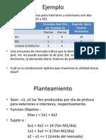Ejercicios de Planteamiento