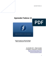 Aprende Fedora 11