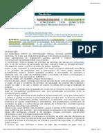 ESGOTAMENTO DA VIA ADMINISTRATIVA E REQUERIMENTO ADMINISTRATIVO NA CONCESSÃO DOS BENEFÍCIOS PREVIDENCIÁRIOS