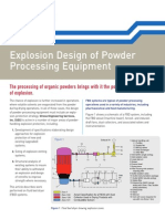 SES - Explosion Design of Powder Processing Equipment