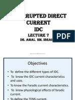 7- Interrupted Direct Current