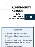 7- Interrupted Direct Current