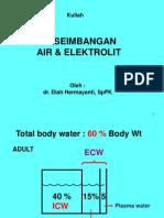 Air Elektrolit