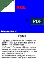 Privacidad vs Control en Fb