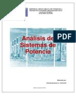 Trabajo de Analisis de Sistemas de Potencia I