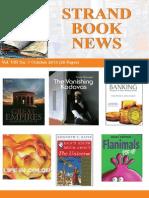 Strand Book News Oct 2013