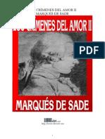 Marqués de Sade - Los crimenes del amorII