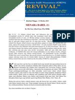 MENARA BABEL (Part 1)