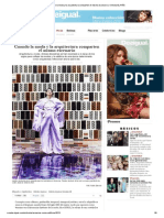 Aroca, Maria Victoria. Cuando La Moda y La Arquitectura Comparten El Mismo Escenario