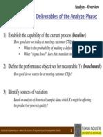 Six Sigma 3 - Analyze - Optimized