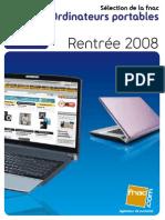 Portables FNAC Ete 2008