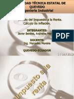 ING. ECONOMICA-CALCULO INF. IMP. RENTA-EXPOSICIÓN