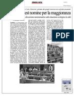 Rassegna Stampa 14.10.2013