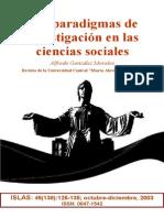 Supuestos Ontologicos y Epistem..