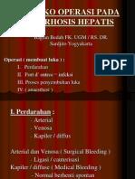 Resiko Operasi Pada Cirrhosis Hepatis