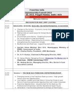ES agenda 2013