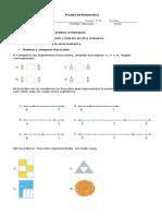 Prueba 5 Fracciones 2013