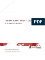 The Microsoft Private Cloud v1.0--Chappell