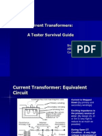 Current Transformers - A Tester Survival Guide