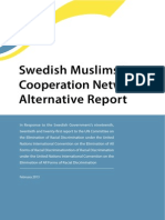 Swedish Muslims in Cooperation Network Alternative Report