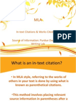 mla notes powerpoint