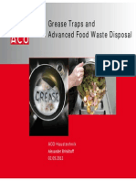 Brinkhoff Grease Traps and Advanced Food Waste Disposal GRASAS