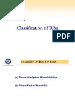 2. Classification of Riba