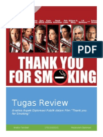 Review Public Diplomacy Dalam Film Thank You for Smoking