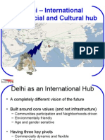 Vision for Delhi - International Commercial and Cultural Hub