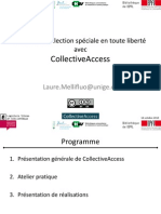 Presentation Collectiveaccess