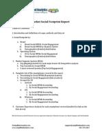 US Smartphone Market Social Footprint Report
