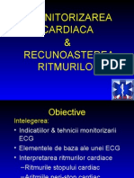 Monitorizarea Cardiaca&Recunoasterea Ritmurilor