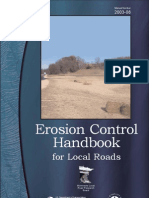 Erosion Control Handbook for Local Roads