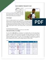 Biografia de 10 Futbolistas Guatemaltecos 1