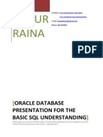 Oracle SQL Basics